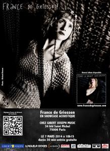 web-affiche showcase France de Griessen 7 mars